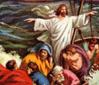 يسوع يهدىّء العاصفة